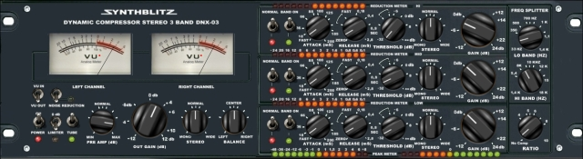 Synthblitz Audio DNX 03 Multiband Compressor v2.0 Hy2ro